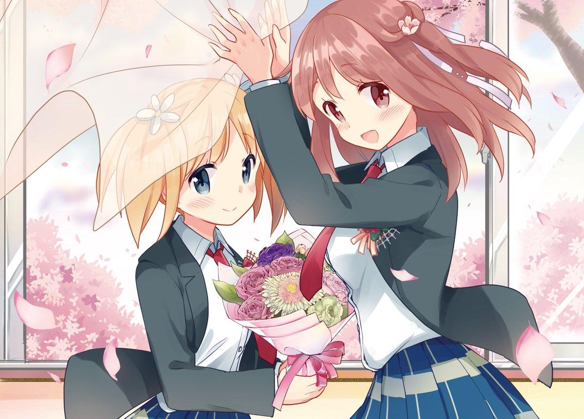 キスが紡いだ物語、タチ先生『桜Trick』ついに完結――。春香と優、そして共に学生生活を過ごした美里西高校最後の日は……