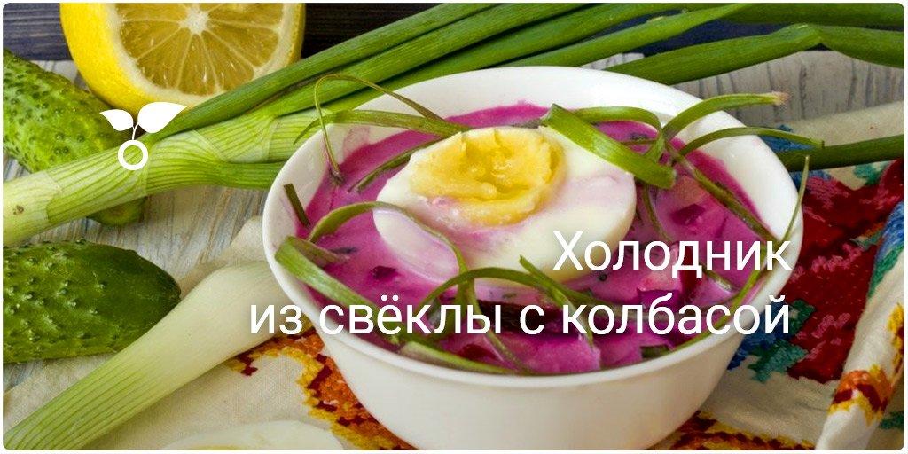 Холодник рецепт с пошаговым