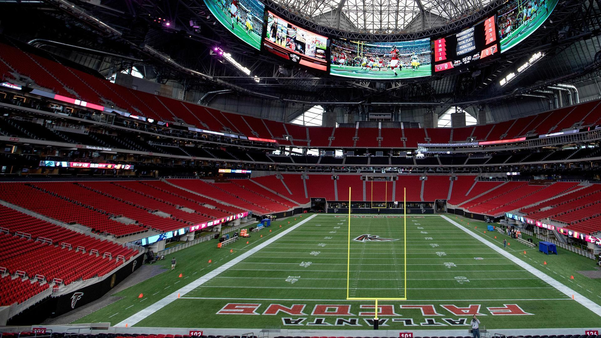 The #Falcons' new stadium has a Chick-fil-A, which won't open on Sundays. https://t.co/jNqMPrpiGm https://t.co/rWlTCObjKl