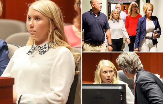 Cheerleader, 18, who 'murdered her newborn baby, torched her body and buried her in her back garden' appears in Ohio court as trial date is set