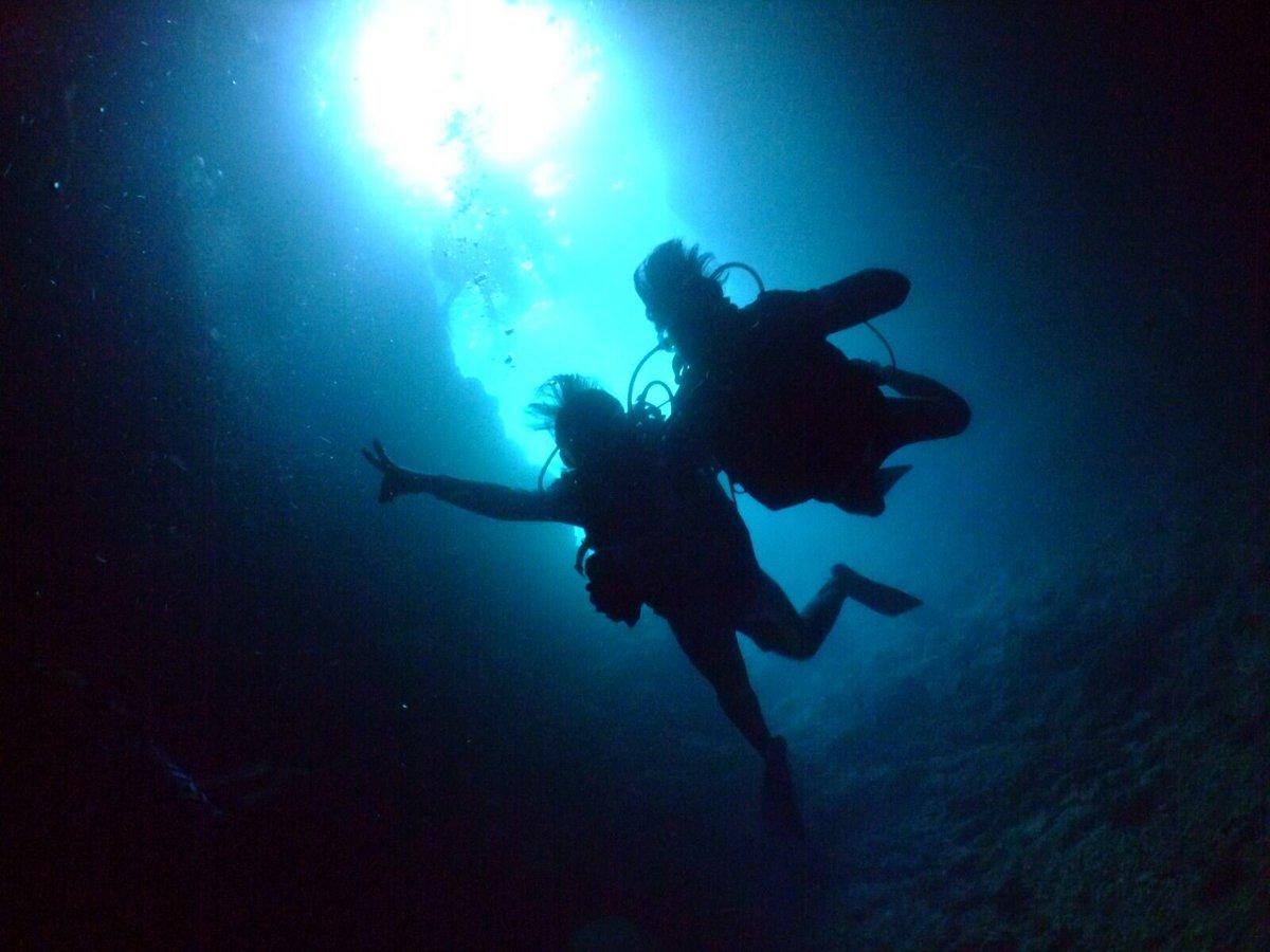 あまんちゅ!読んでからずっとやりたかったダイビング。遂にやれた。水族館とか海が大好きなら一回はやった方が良いねー。