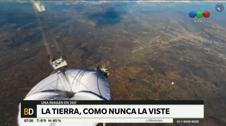 #360° La Tierra, como nunca la viste https://t.co/eAVOGMpLNQ https://t.co/txXVPp8lkp