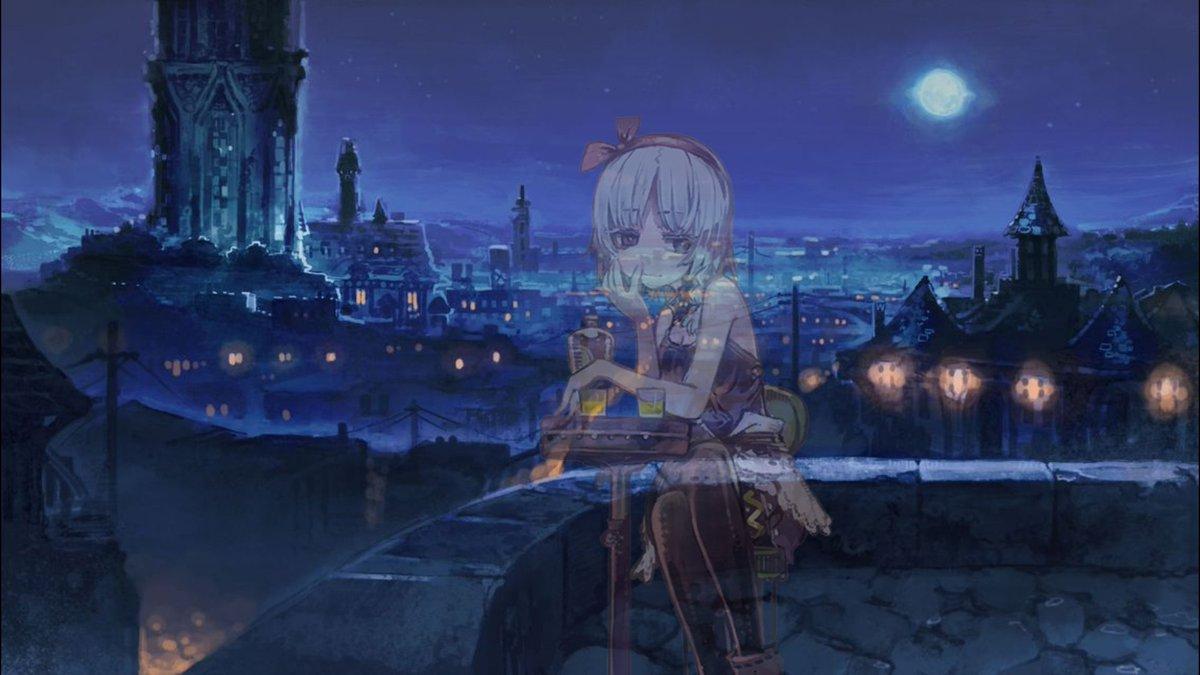 エアクオリアと夜景デート゚.+:。∩(・ω・)∩゚.+:。#はがねオーケストラ #はがオケ