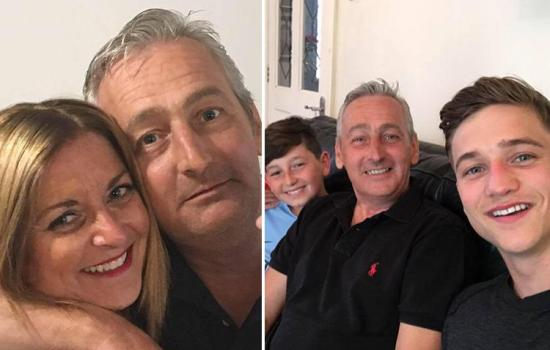Wife mistook husband, 52, having a heart attack in bed next to her as SNORING – before son saved his life