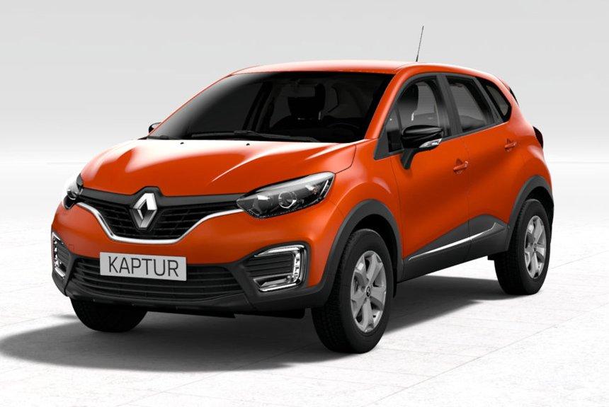 Renault Kaptur с вариатором: теперь и в базовой комплектации