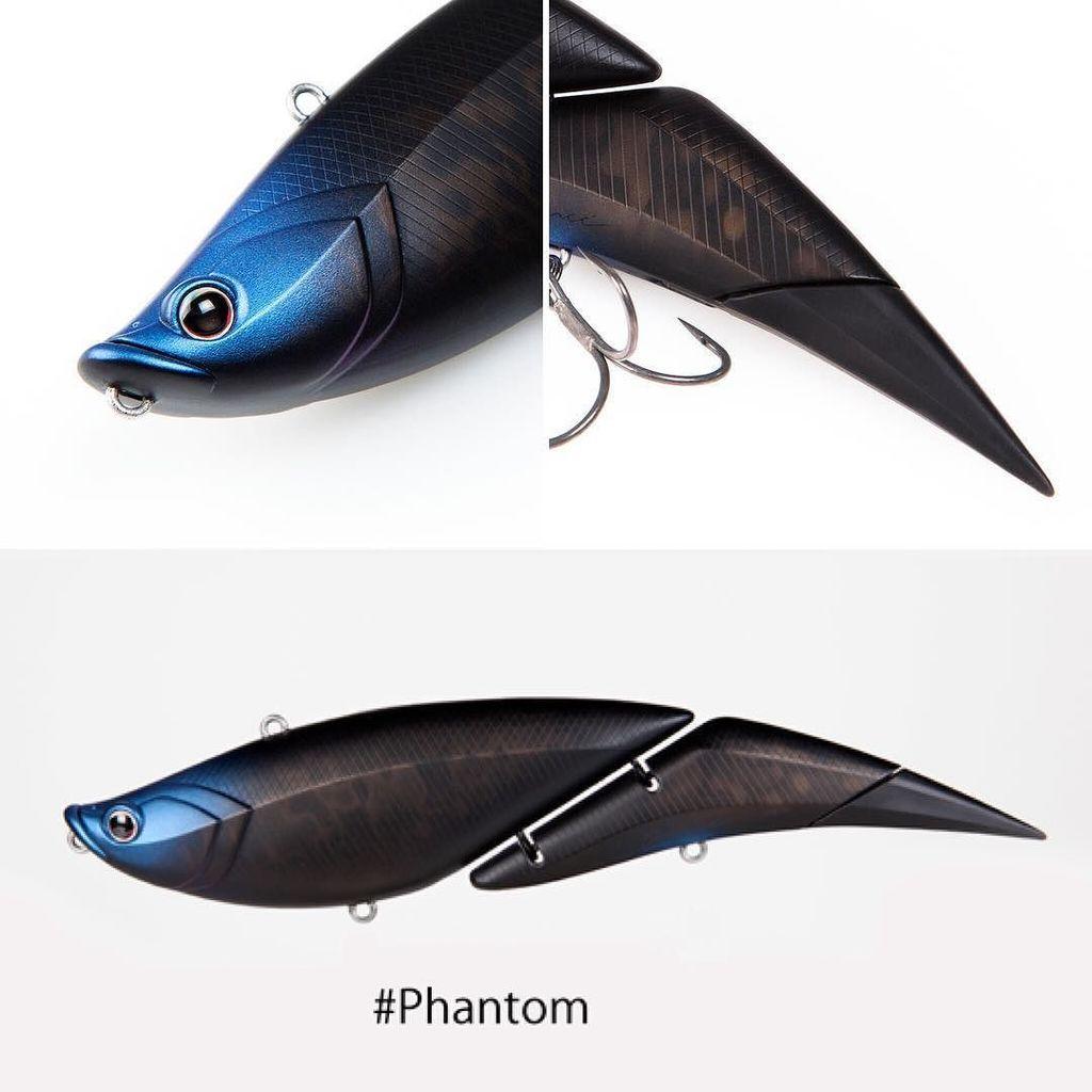 Davinci 190 #PhantomPhantomは濁りの中でもシルエットがハッキリ分かるようブラックをベースに、見