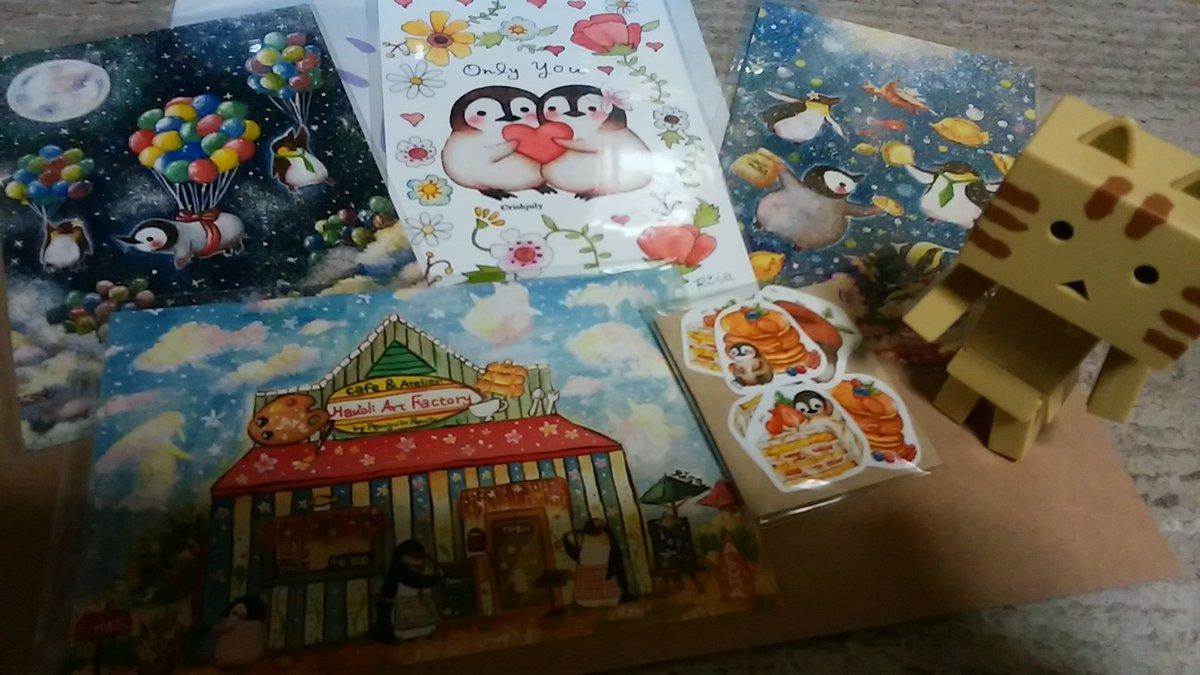 にゃんぼー阪急百貨店に行く。りささん( )の新しいポストカードGet!りささんご本人にお会い出来ました🎵お話し出来て嬉し
