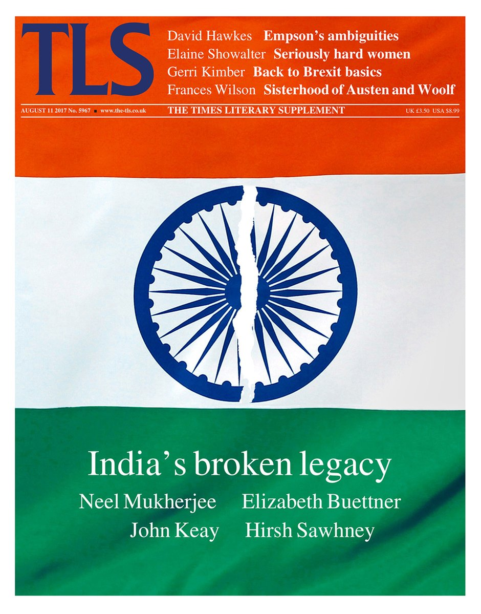 test Twitter Media - RT @wesleyan_u: Prof Hirsh Sawhney's essay on literature of #India's Partition made @TheTLS cover story: https://t.co/pgNVYsQmOn https://t.co/ehcKsETMx1