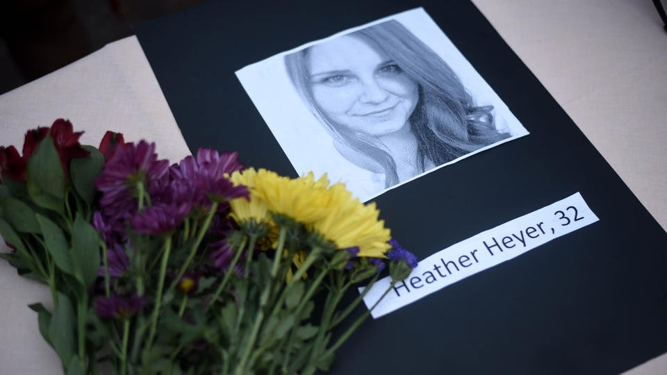 Mourners gather to remember woman killed at Virginia rally