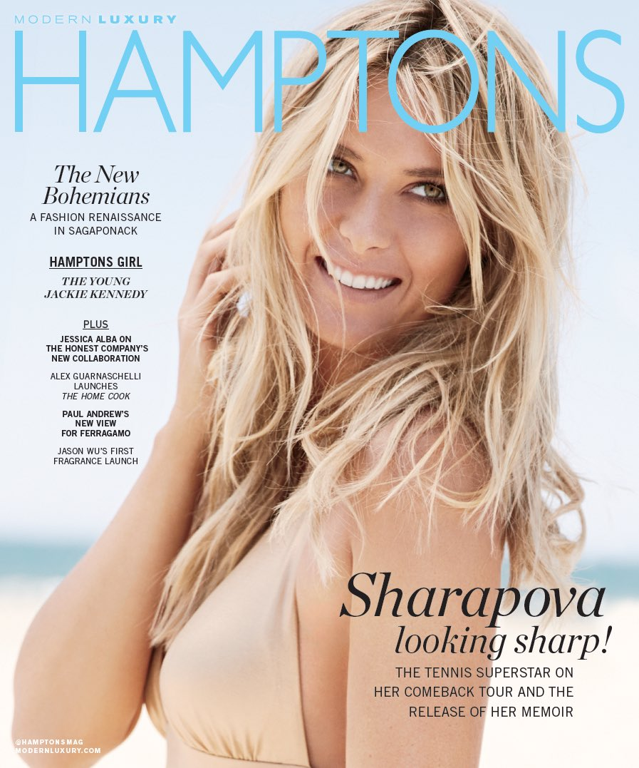 My cover and story in @HamptonsMag  Photo credit @Johnrussophoto https://t.co/ft7KVBy4wE #Unstoppable https://t.co/K19uZuEEvN
