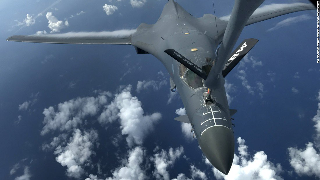 B-1 bombers ready if called upon by Trump #bombers #ready #called #trump https://t.co/LiLtnUHZSq https://t.co/Fvzw16ehCA