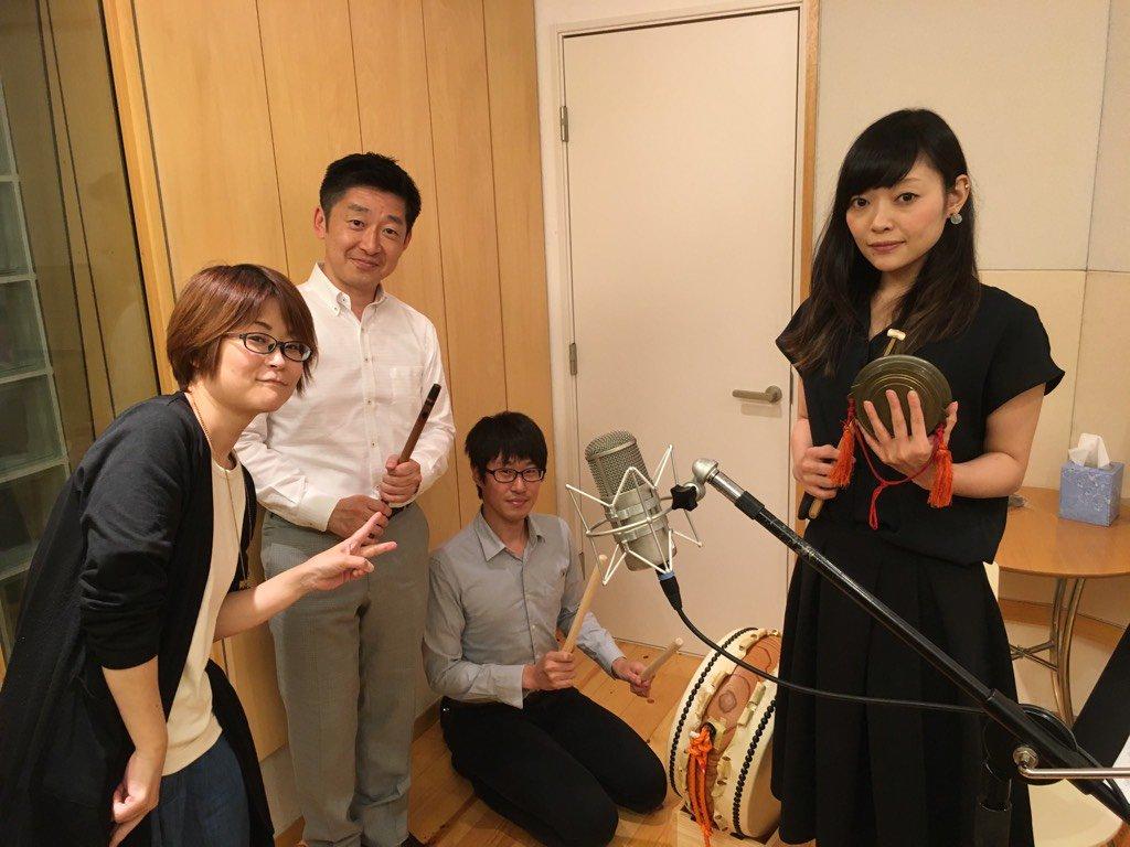 今日は祭囃子RECという珍しい収録しましたよ。タニクミ曲を、とあるイベント用に編曲して生録音。演奏は『戦国無双』『討鬼伝