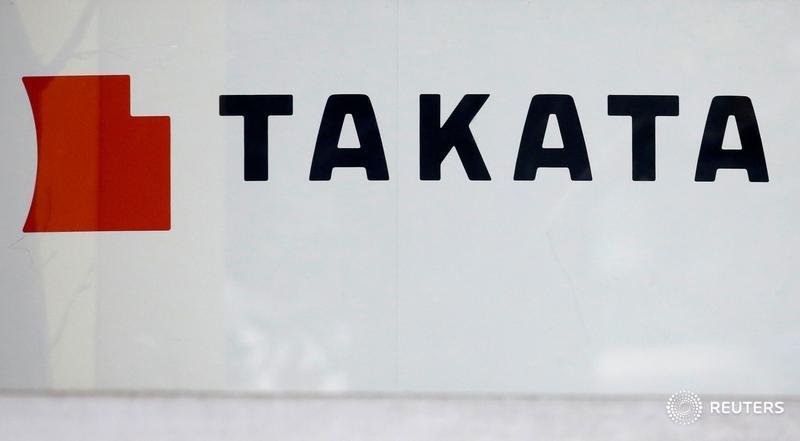U.S. judge in Takata bankruptcy halts lawsuits vs. automakers