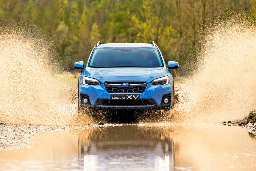 Знакомимся с внутренним миром кроссовера Subaru XV третьего поколения