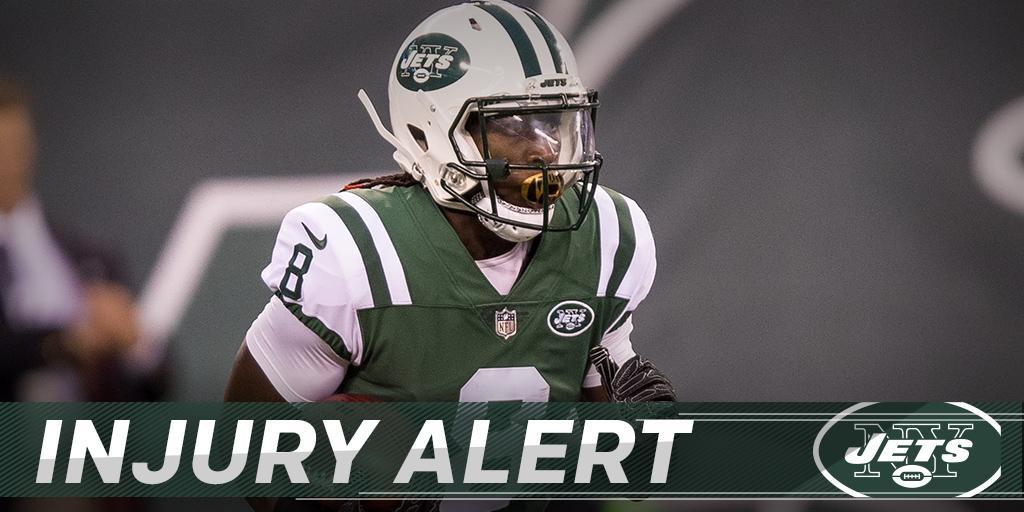 Jets WR Lucky Whitehead suffers broken foot: https://t.co/N9eFd8SugU https://t.co/tkd3oAeuwF