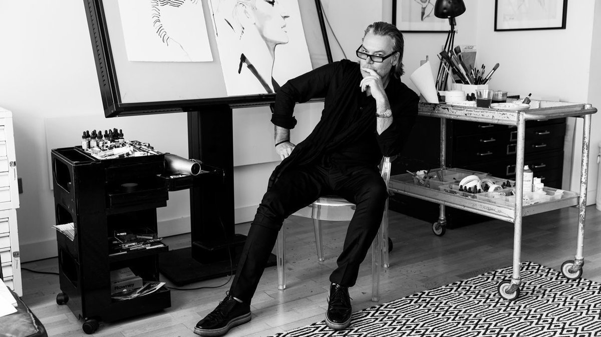 In an Instagram world, artist David Downton continues to draw fashion and Hollywood's top stars