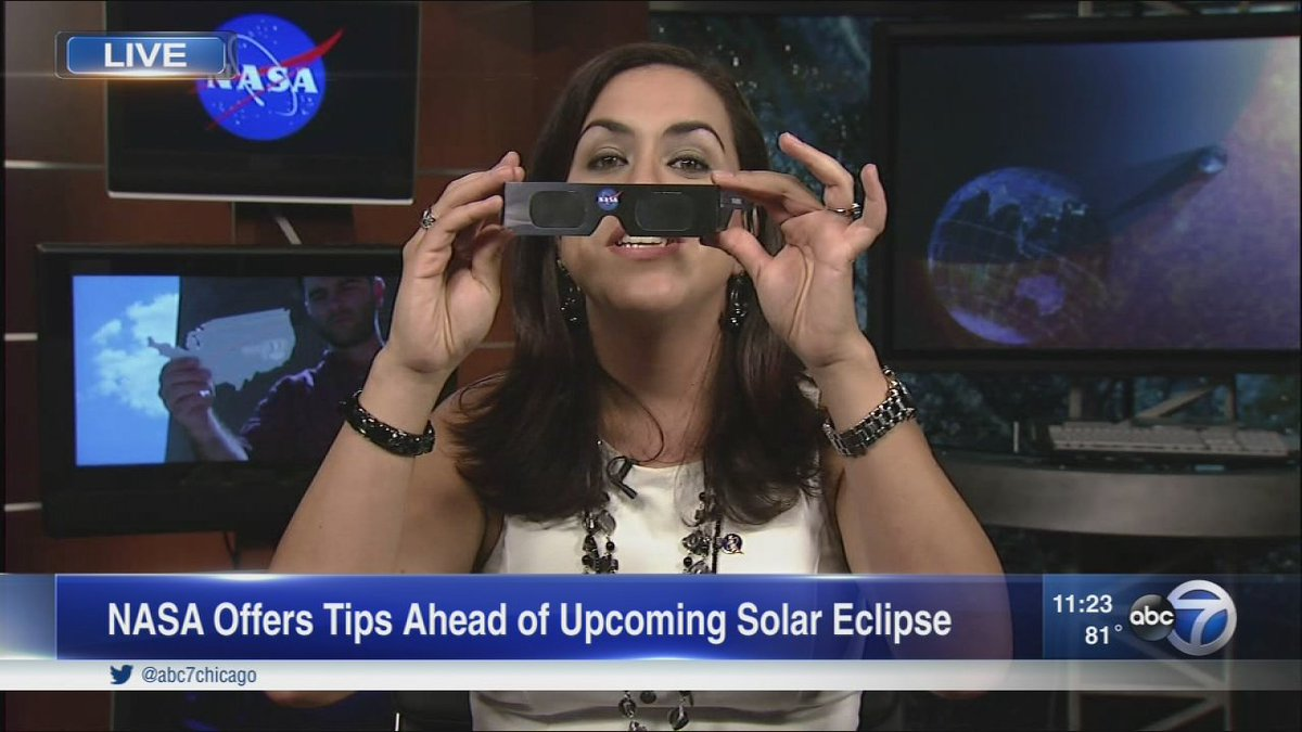 NASA scientist talks about The Great Solar Eclipse