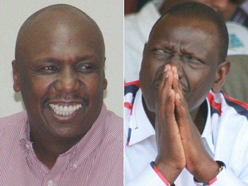 Gideon Moi is no match for Ruto, Nandi's Sang says on 2022 bid