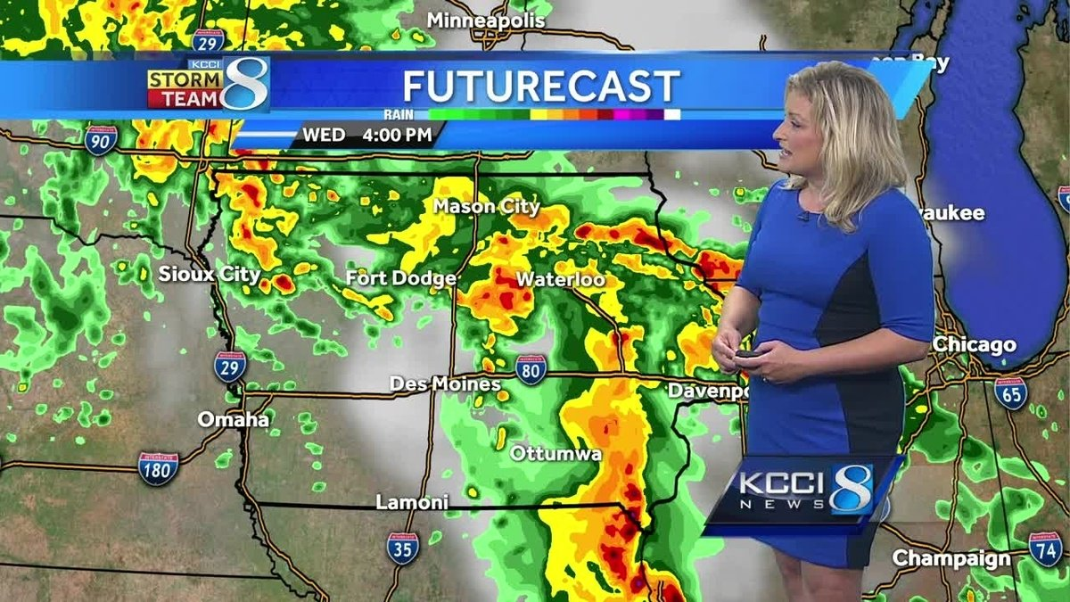 Videocast: Afternoon, evening showers next