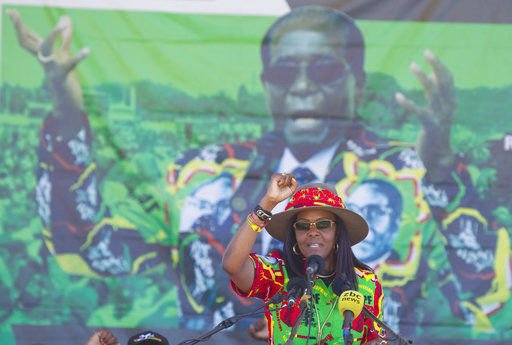 Zimbabwe first lady wants diplomatic immunity over assault
