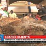 Kongowea Market in Mombasa is yet to receive clients