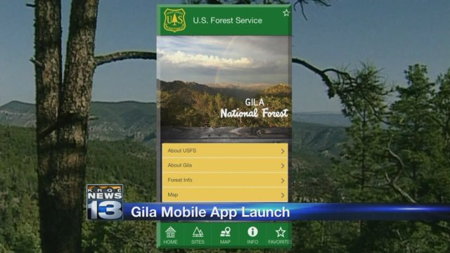 App gives Gila National Forest visitors new experience