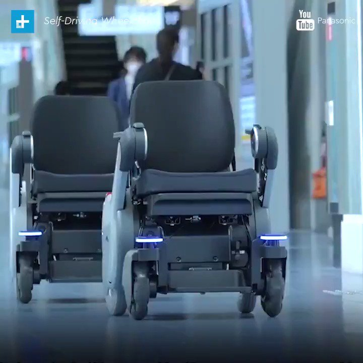 Next time you're at the airport, look out for @panasonic's self-driving...