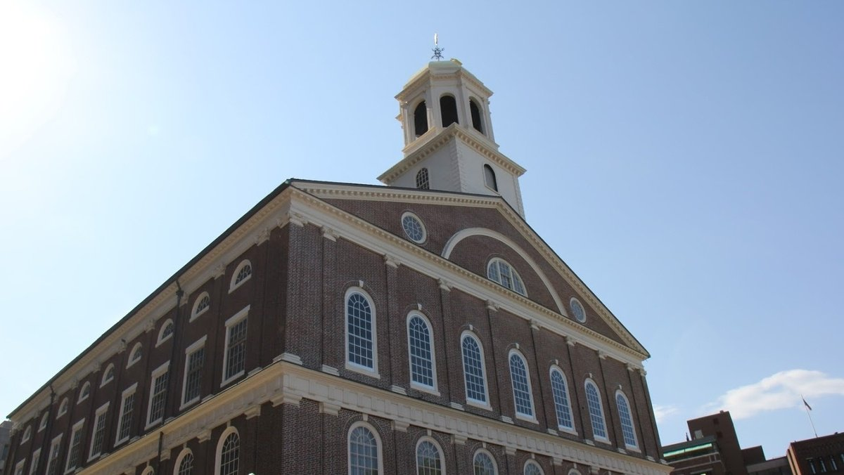 Rename Faneuil Hall? Leader suggests change due to slavery ties
