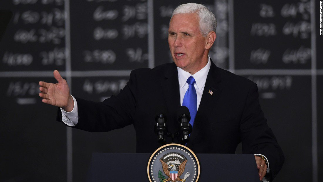 Pence won't say if he agrees with Trump on 'both sides'