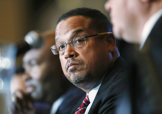 Rep. Ellison says Trump emboldening white supremacists