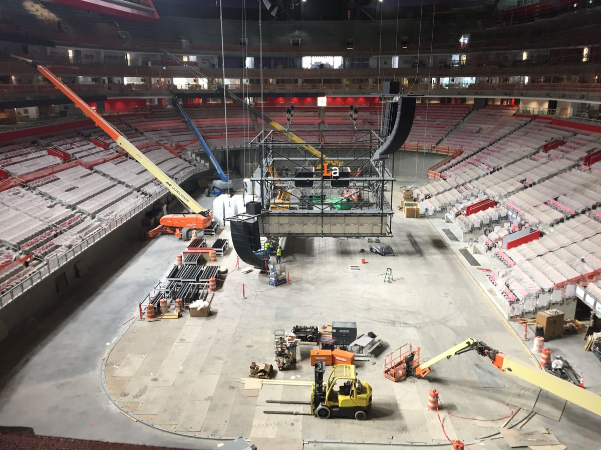Public tours, other events announced for Little Caesars Arena preview week