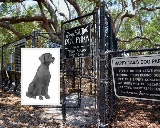 Statue of slain dog Ponce to be unveiled next month