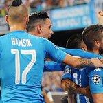 Champions, Napoli-Nizza 2-0: gol di Mertens e Jorginho