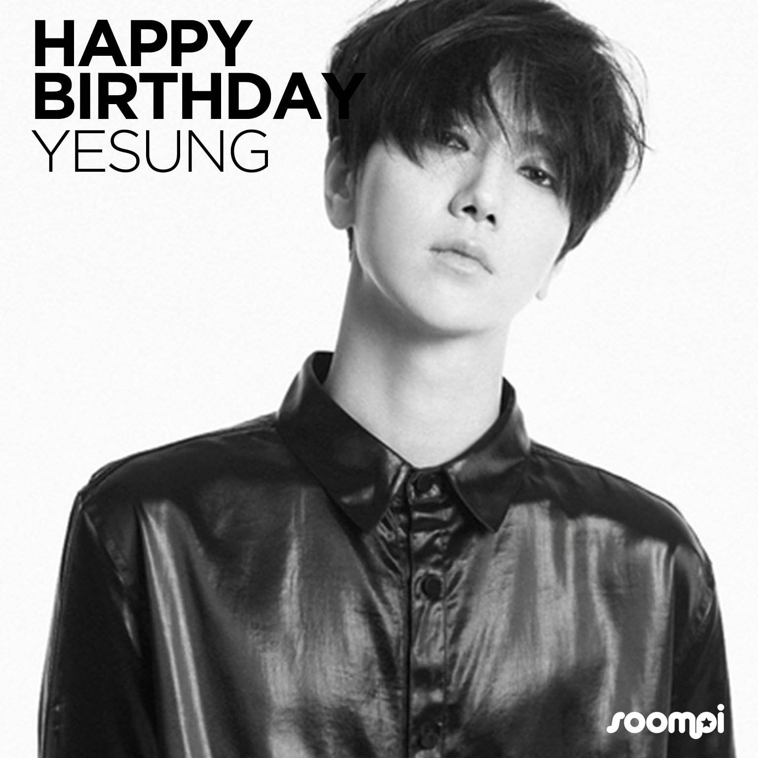 Happy Birthday to #SuperJunior's Yesung! #HappyYesungDay ��  Catch up with him: https://t.co/4qiOg1nATd https://t.co/W9GVrAMGI8