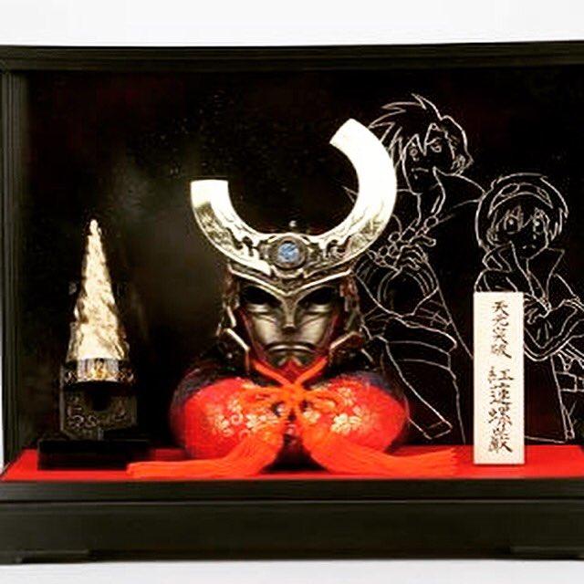 【告知】8/19〜9/8まで、新宿BEAMS JAPANで「天元突破グレンラガン五月人形兜飾り」と「クロムクロ胸像」を展