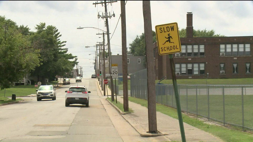 School zone safety reminder as students return to class