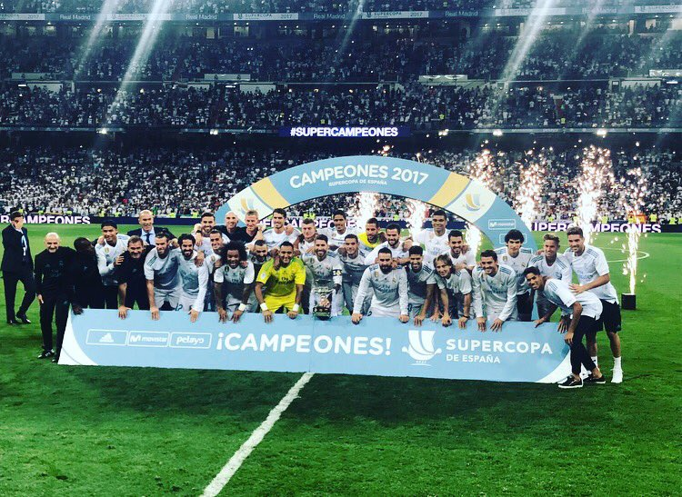 Vaamoosss!! Second trophy of the season and what a performance to win it with ����#SupercopadeEspana https://t.co/wORhWXDMHu