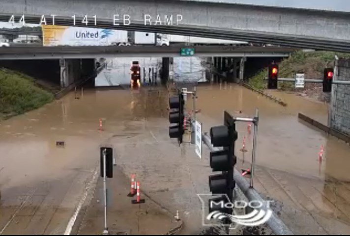 Highway 141 flooding, closure causes headache for evening commuters