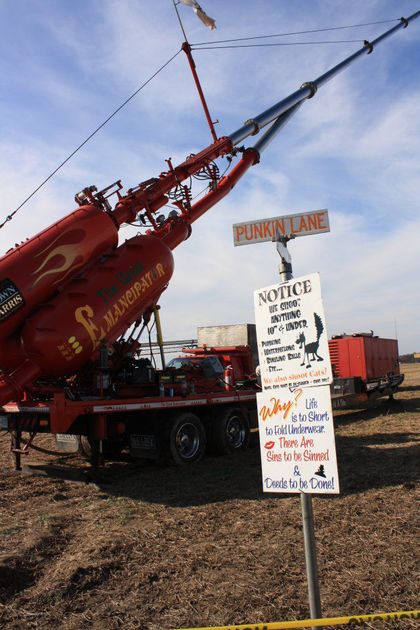 Woman files federal lawsuit over Punkin Chunkin air cannon explosion