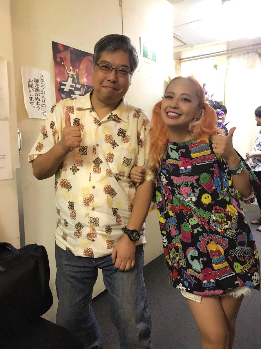 昨日のミュージカルにリボーンの脚本の三井さんが観に来てくださいました😍久しぶりの再会‼︎#あいまいみー #あいみゅ 三井