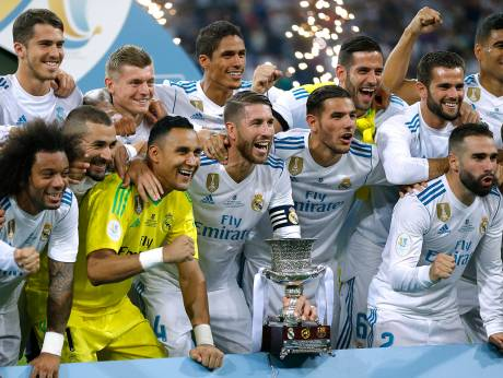 Real Madrid complete crushing Super Cup win over Barcelona