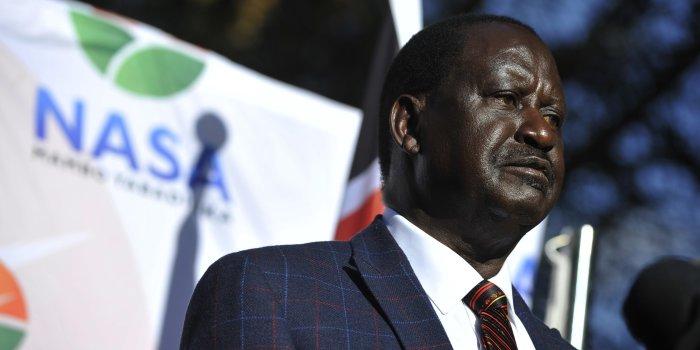 Kenyan Opposition Leader Pledges Court Fight Over Election