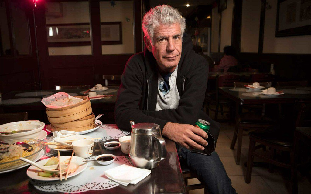Anthony Bourdain Has a 'Disgusting, Shameful' Fast Food Secret