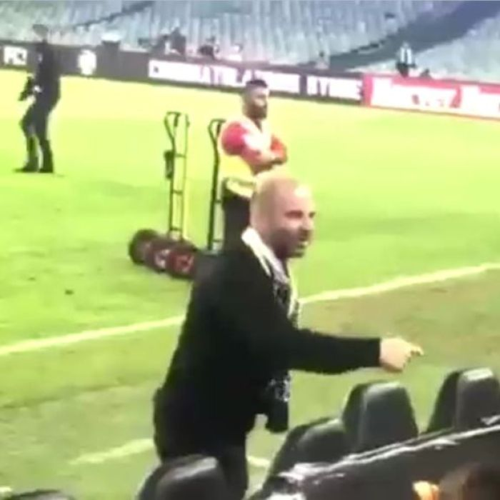 Celebrity chef George Calombaris pleads guilty over A-League grand final altercation