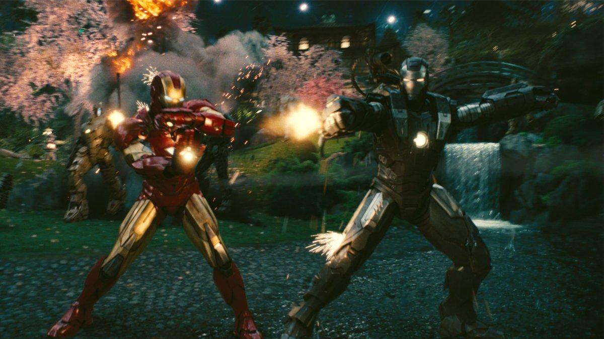 『#アイアンマン2』【#アイアンマンのここがすごい ② 】◆ヒーローなのに政府からスーツ没収◆電流ムチ使いの屈強な敵、登