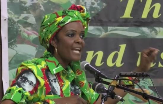 Zimbabwe's first lady accused of attacking model, seeks diplomatic immunity