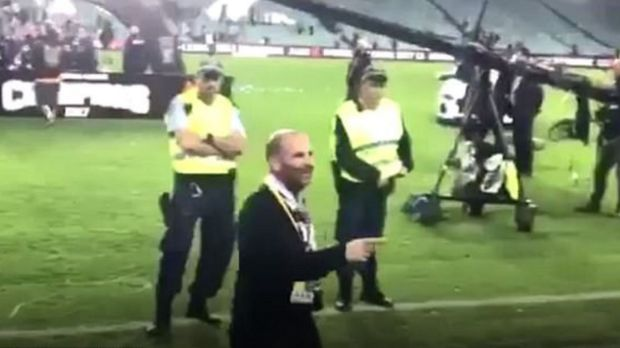 MasterChef judge George Calombaris pleads guilty to assault after A-League grand final