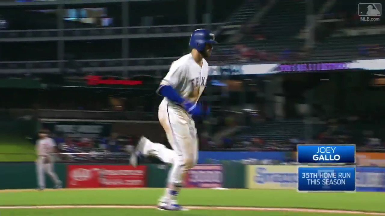 No. 35 for @JoeyGallo24, and they've all been colossal. https://t.co/CvwfC6Vczs