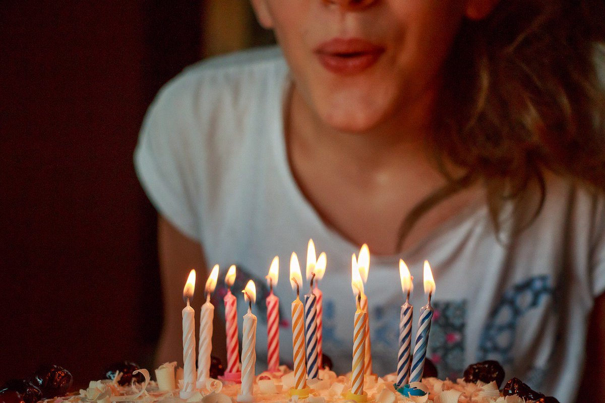 Yes, blowing candles on your birthday cake spreads bacteria
