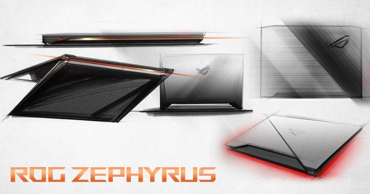 #ROGZephyrus - an innovative approach to designing the world's thinnest,...